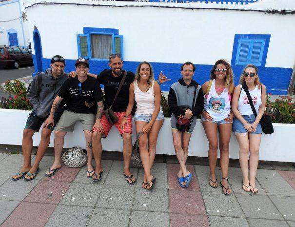 Visita Agaete surfari en grupo