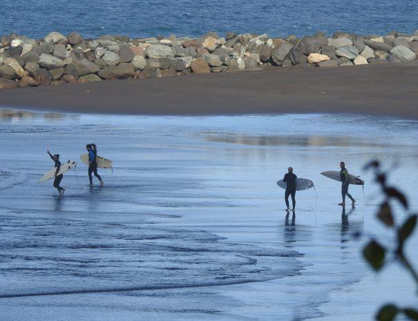 playa de la laja surf gran canaria
